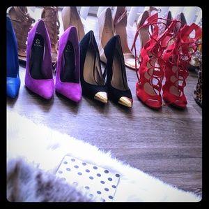 Shoes, Dresses.